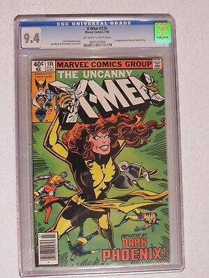 Uncanny X-Men #135 CGC 9.4 (Marvel) US Cents copy 1st Senator Robert Kelly