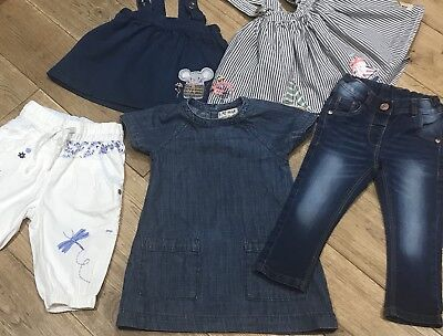 Girls Next Dress Jeans Trousers Out-Fit Bundle Size 12-18 Months