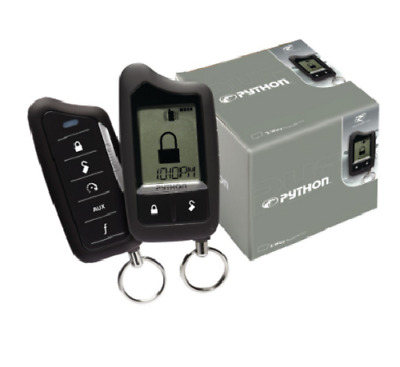 Python 5706P  SST 2-Way Security/Remote-Start System with 1-Mile Range