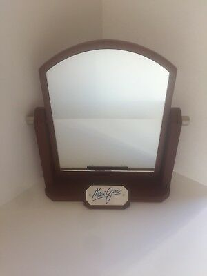 MAUI JIM Sunglasses Mirror Table Counter Personal Wood Frame Logo