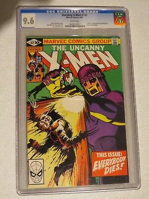 Uncanny X-Men #142 CGC 9.6 (Marvel) US Cents copy - Days of Future Past