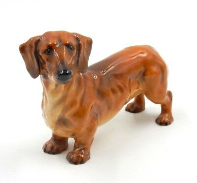 "Royal Doulton Dachshund ""hn1141"" Small Collectible Dog Figurine"