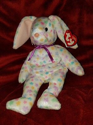 Ty Beanie Baby Babies 2003 SPRINGFIELD Easter Bunny Rabbit MWMT