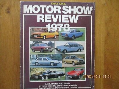 Daily Mail Motor Show Review 1978