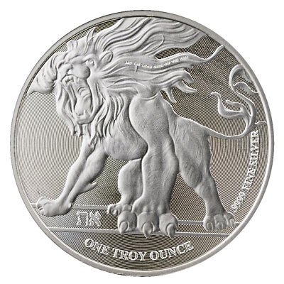 2018 Roaring Lion Silver 1 oz Niue Coin | Direct From Mint Tube
