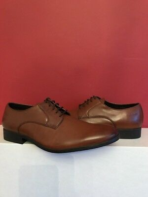 84570b97705 CLARKS BANFIELD Leather Tan Lace Up Shoes size Uk 9 BRAND NEW WITH BOX!