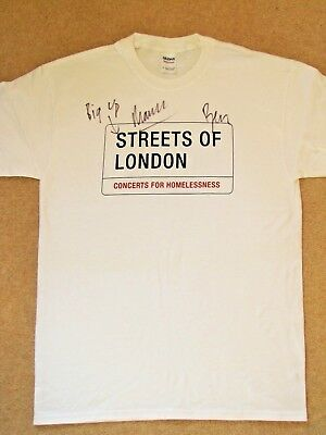 MUMFORD & SONS Signed T-shirt – Streets of London charity auction