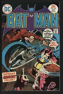 Batman #265 Rich Buckler/bernie Wrightson Art From 1975 Glossy + Nice Pages