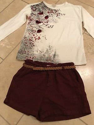 Zara Shorts & Top Outfit 9 10 Years Posted Next Day