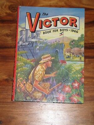 The Victor Book For Boys 1966  - Unclipped