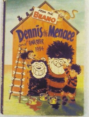 Dennis The Menace And Gnasher 1994, From The Beano