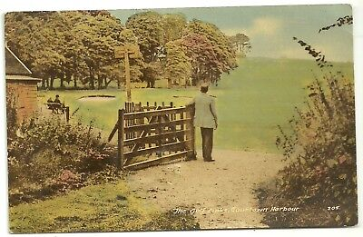 Ireland Co Wexford  postcard The Golf links Courtown Harbour