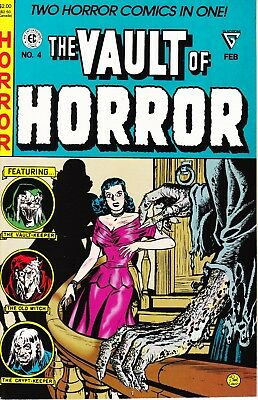 VAULT OF HORROR: OUTRAGEOUS 1950'S EC COMICS #4 1991 Awesome Reprints 2 IN ONE!
