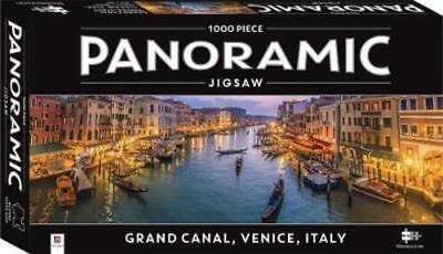 1000 Piece Jigsaw Puzzle: Panoramic Grand Canal Venice - Brand New Sealed