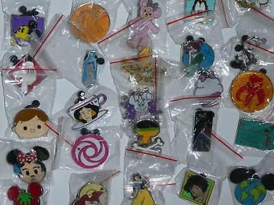 DISNEY TRADING PINS LOT OF 25 TRADABLE - NO DUPLICATES - All NEW