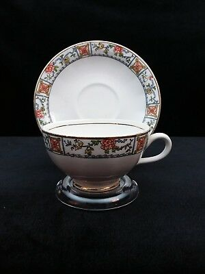 Vintage Edwin M Knowles Cup and Saucer FREE SHIPPING!
