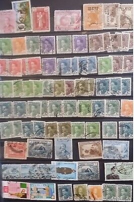 Iraq Stamps 1934 -1938 King Ghazi + other from Old Stockbook