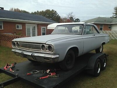 1965 Dodge Coronet  1965 Dodge Coronet 500 factory matching numbers 426 street wedge car for sale