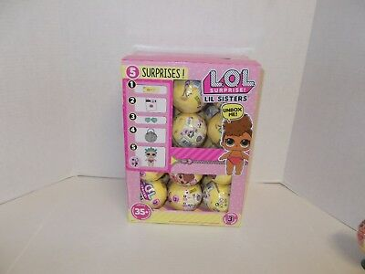 Lol Surprise Dolls Series 3 Lil Sisters Full Case / Vhtf !!!