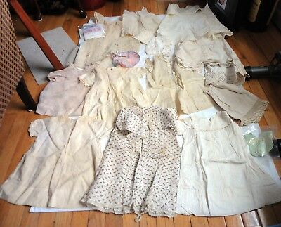 Lot of 25 Antique & Vintage Children/Baby Clothing