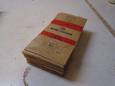 NOS Bundle of 50 Old Paper Massey Ferguson Parts Sacks never used