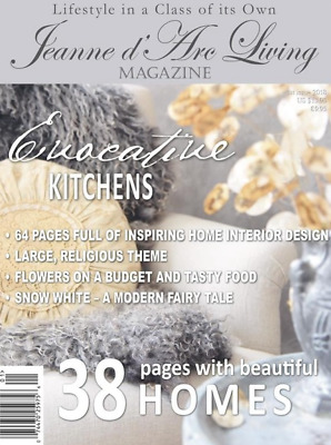 Jeanne d'Arc Living Magazine English Edition Issue 1 January  2018