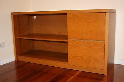 Tasmanian Oak Credenza Used-Filing cabinets Drawers