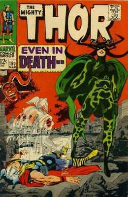 Thor (1966 series) #150 in Very Good condition. FREE bag/board
