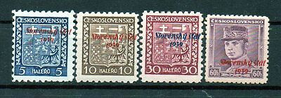 Slowakei   1939+ , Mh , All Shift  Overprint