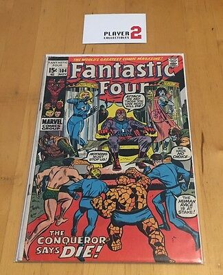 Fantastic Four # 104, The Conqueror Says Die!