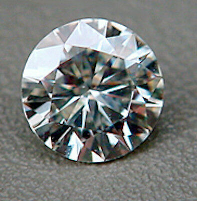 Round Brilliant Faceted Genuine Moissanite Created by Charles & Colvard (6-12mm)