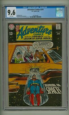 Adventure 379 (CGC 9.6) White pages; Neal Adams cover; DC Comics; 1969 (c#17421)
