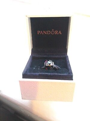 Pandora Authentic Ale 925 Disney Mickey Mouse Hearts Charm