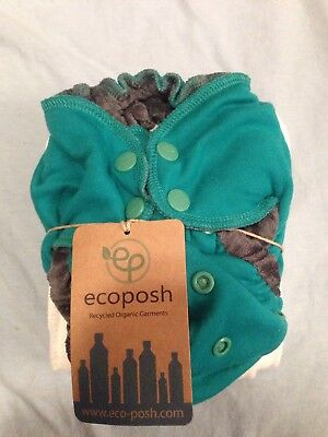 Ecoposh One Size OS Fitted Diaper