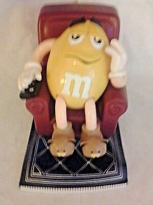 Collectible M & M Candy Dispenser Lazy Boy Recliner Chair Mars