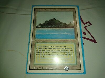 magic the gathering mtg - 1 Tropical Island from the Revised/3rd eidition Set