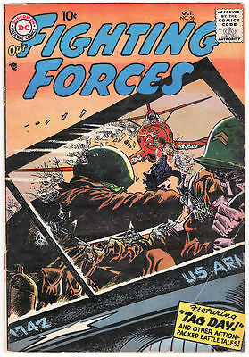 Our Fighting Forces #26 VG+ 1957