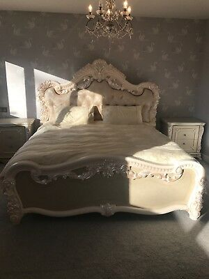 french superking bed Baroque style