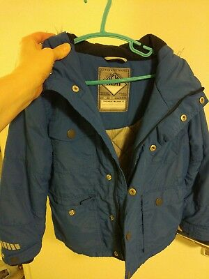 boys 5-6 years winter jacket from next