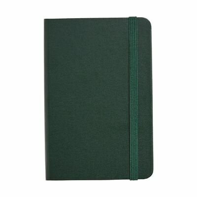 J.Burrows Pocket Journal Ruled 240 Page Dark Green