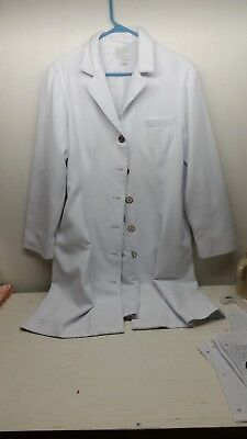Clinique Lab Coat Size 12P Good used Condition