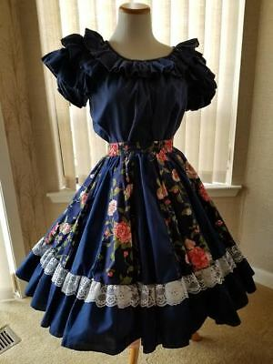 Square Dance in Style in this Delightful Outfit with 2 Alternate Skirts, plus...