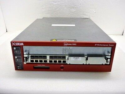 Ixia Optixia XM2 Portable Chassis & LSM1000XMVDC8-01 8-Port LAN Services
