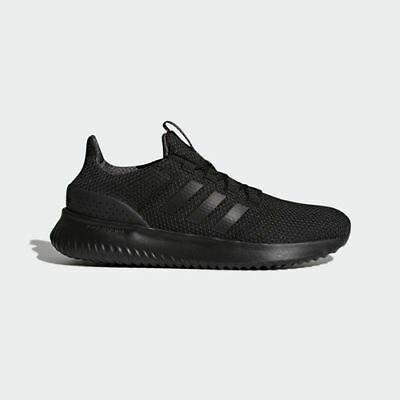 online retailer 594bc 13244 Mens Adidas NEO Cloudfoam Ultimate Black Sneaker Athletic Shoe BC0018 Size  8-13