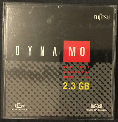 "2,3 GB Fujitsu DYNA MO Magneto Optical Disk 3,5"" Rewritable ***ansehen***"