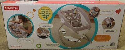 NEW Fisher-Price Newborn Auto Rock 'n Play Sleeper and play time seat in one