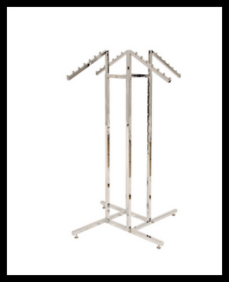 Shop Fittings Chrome Waterfall Display Stand            Melbourne