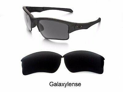 310039618b Galaxy Replacement Lenses For Oakley Quarter Jacket Sunglasses Black  Polarized