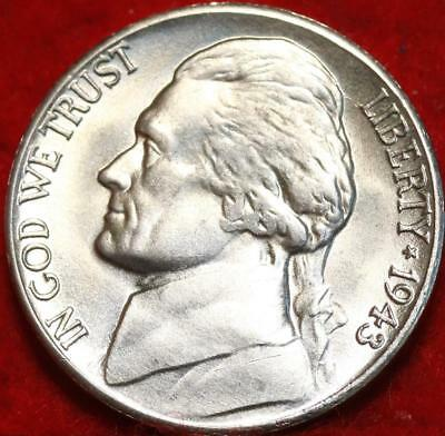 Uncirculated 1943-S San Francisco Mint Silver Jefferson Nickel