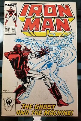 Iron Man #219 220 221 (July 1988, Marvel) 3 Book LOT 1st Ghost Ant-Man and Wasp!